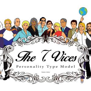 Dit is het logo voor de 7 archetypes die we gebruiken voor het doorgronden en begrijpen van kantoorpolitiek.