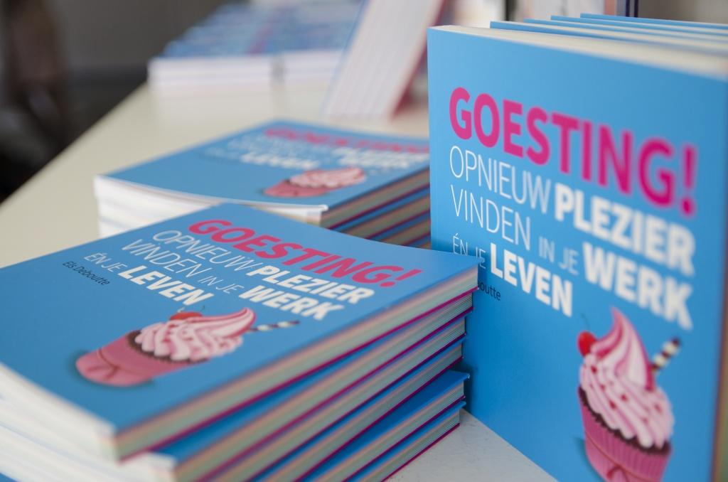Boekvoorstelling 'Goesting! Opnieuw plezier in je werk en je leven'