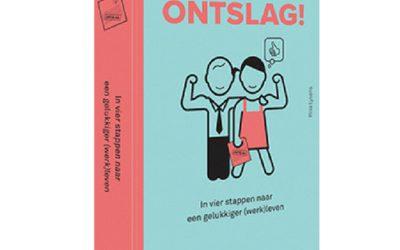 Boek 'Hoera, onstlag!' (Rilla Lysens) in de pers