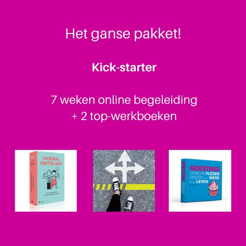 kick-starter vierkant